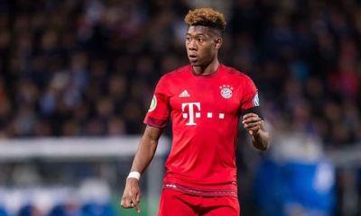 LDC - David Alaba touché à la cheville, il est incertain pour PSG/Bayern Munich