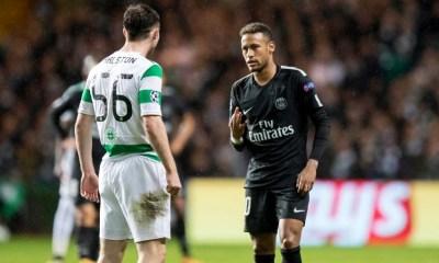 Celtic/PSG - Neymar a refusé de serrer la main de Ralston après le match