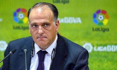 """Tebas demande à l'UEFA de """"regarder l'historique des infractions du PSG"""""""