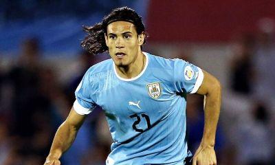 Cavani toujours annoncé comme titulaire contre la Bolivie, malgré une alerte au genou