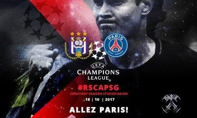 Anderlecht/PSG - Les équipes officielles : Paris dans son équipe-type sans Thiago Silva