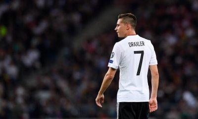 Julian Draxler déclare forfait pour Allemagne/Azerbaïdjan à cause d'une grippe
