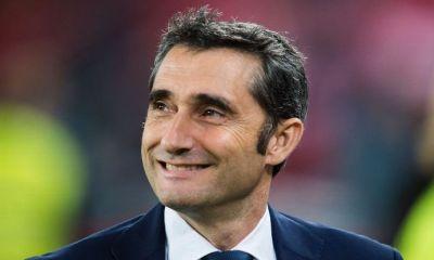 """Ernesto Valverde """"Si on a voulu Mbappé ? Je suppose que non puisqu'il n'est pas ici"""""""