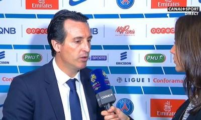 """PSG/Nice: Emery """"L'équipe a fait un match complet"""""""
