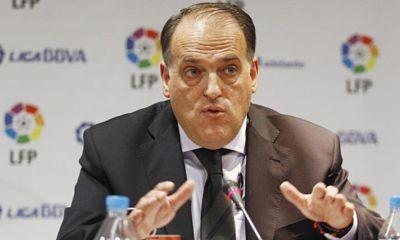 Tebas continue sa croisade contre le PSG et demande son exclusion de la Ligue des Champions cette saison