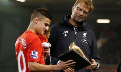 """Mercato - Jurgen Klopp """"Philippe Coutinho est à Liverpool à 100%"""""""