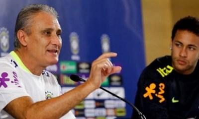 """Tite """"Neymar? Il était un point à Barcelone et maintenant il est davantage pilote du jeu au PSG"""""""