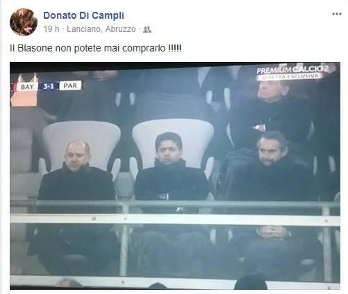 Donato Di Campli envoie une pique au PSG après sa défaite contre le Bayern Munich