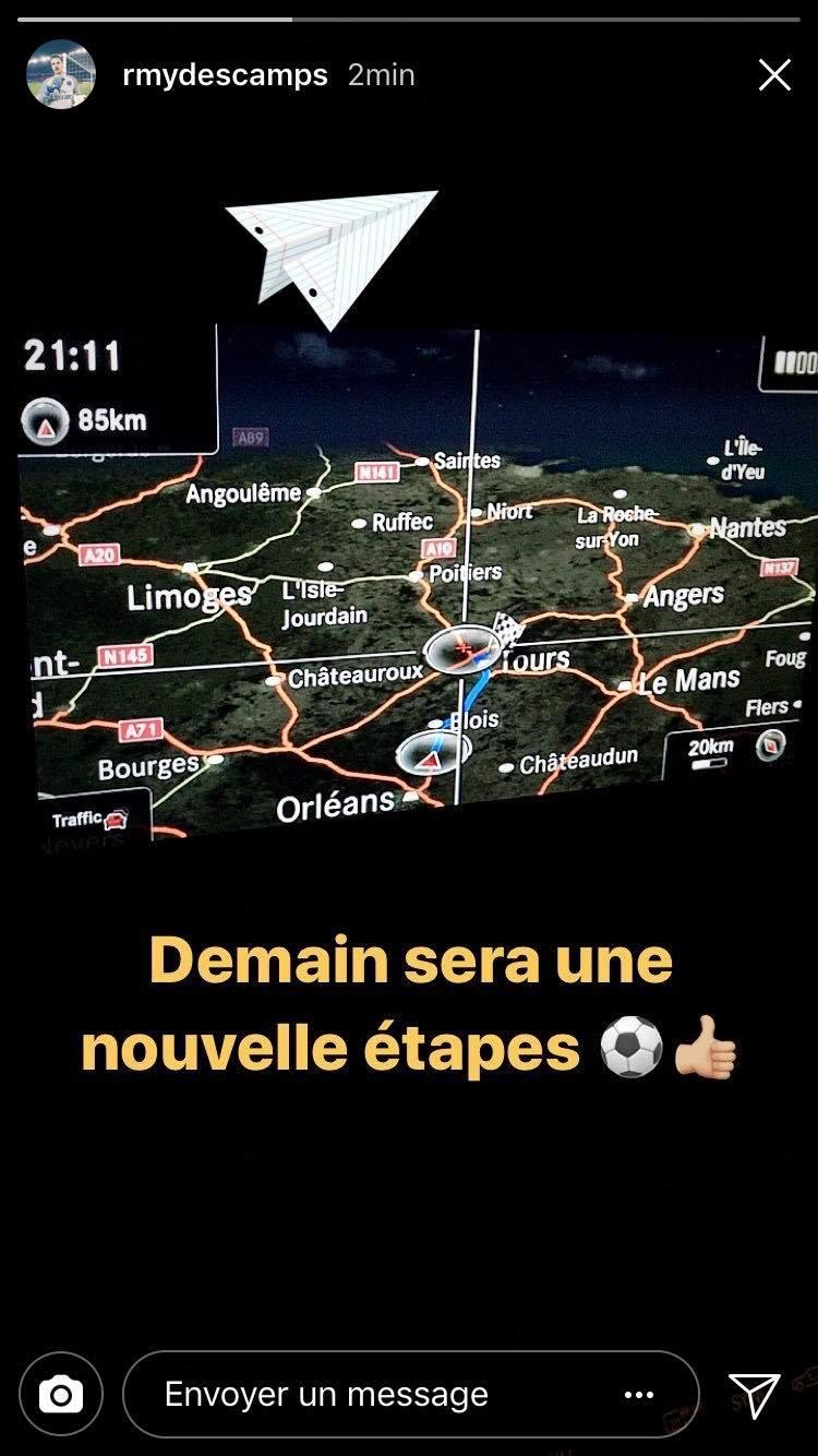 Mercato - Rémy Descamps confirme son départ vers Tours !