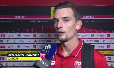 """PSG/Dijon - Jeannot """"On s'attend à un match compliqué mais il faut y aller avec nos qualités"""""""