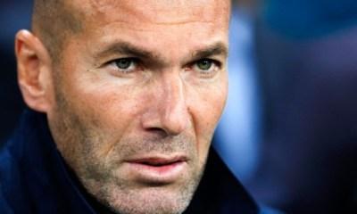 """Zidane """"Nous avons 5 matchs jusqu'à Paris...Le succès contre le PSG influence tout notre travail"""""""