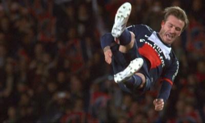 """Real Madrid/PSG - Beckham """"J'adore le PSG...ça va être un match incroyable"""""""