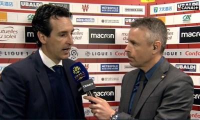 """Nice/PSG - Unai Emery """"L'équipe répond bien...Notre objectif est de tout remporter"""""""