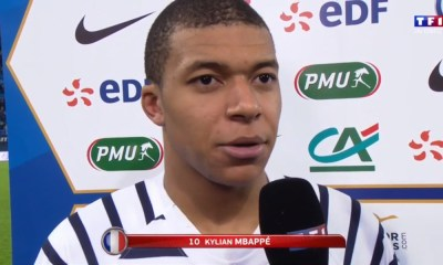 """Mbappé """"Je suis toujours content de battre des records"""""""