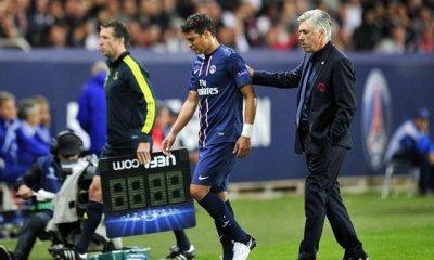Thiago Silva militerait pour Carlo Ancelotti ou Luis Enrique en remplacement d'Emery, selon France Football