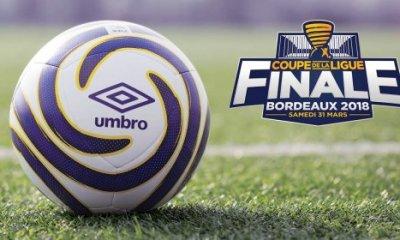 Coupe de la Ligue - Le ballon de la finale PSG/Monaco a été dévoilé par la LFP