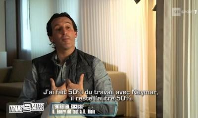 """Emery """"Neymar, il faut aussi que ses coéquipiers s'adaptent à lui"""""""