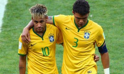 Neymar et Thiago Silva devraient être titulaire pour Brésil/Suisse