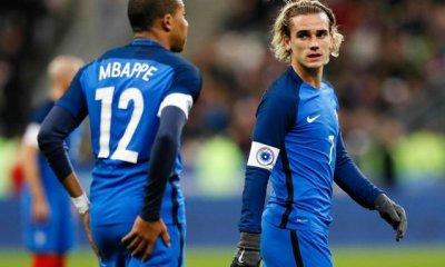 Griezmann encense Mbappé après la qualification des Bleus