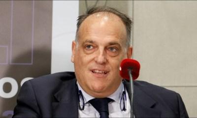 """Javier Tebas répond à la LFP """"je dénoncerai plus vite et encore mieux"""""""