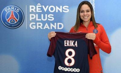 Erika quitte le PSG pour rejoindre le Corinthians
