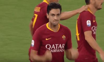 Anciens - Javier Pastore a inscrit un sublime but avec l'AS Roma
