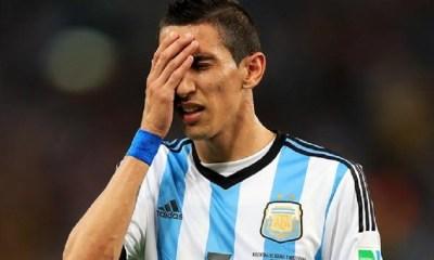 Angel Di Maria encore laissé de côté par le sélectionneur de l'Argentine