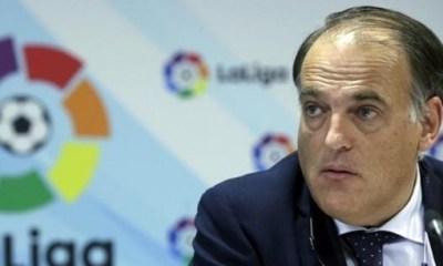 Javier Tebas a démissionné du poste qu'il avait au sein du Conseil Stratégique de l'UEFA