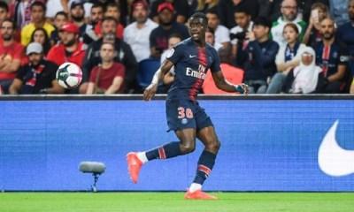 N'Soki remplaçant avec l'Equipe de France Espoir face à la Croatie
