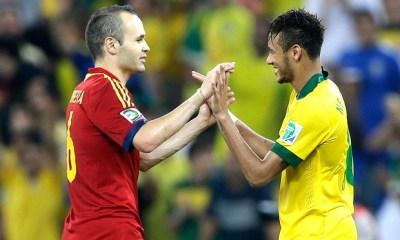 Iniesta donne son avis sur les possibilités de voir Neymar au Real Madrid ou au Barça