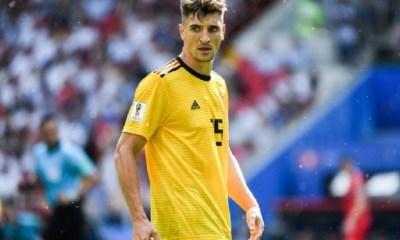 Meunier convoqué avec la Belgique pour ses matchs de Ligue des Nations en novembre