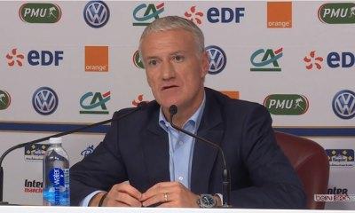 """Didier Deschamps: """"Un retour de Rabiot? On ne parle pas d'un joueur qui a réalisé des performances de haut niveau avec nous"""""""