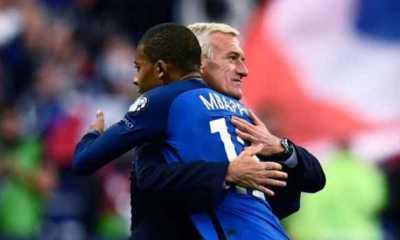 Kylian Mbappé + Didier Deschamps