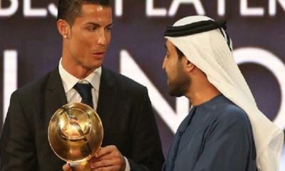 Globe Soccer Awards - Cristiano Ronaldo meilleur joueur, Atlético de Madrid meilleur club et Deschamps meilleur coach