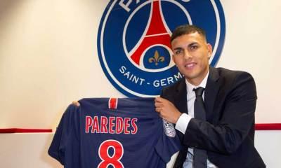 """Paredes: """"Tout s'est très bien passé avec mes coéquipiers. Tout le monde m'a aidé dans l'équipe"""""""