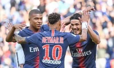 Mbappé, Neymar et Cavani ont établi un record du PSG avec une grande performance en Ligue 1