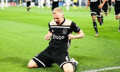 Mercato - Van de Beek annonce qu'il pourrait continuer à l'Ajax Amsterdam