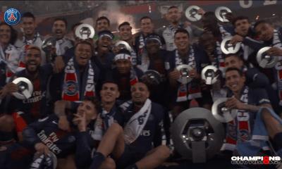 Les images du PSG ce dimanche : Encore des célébrations du titre