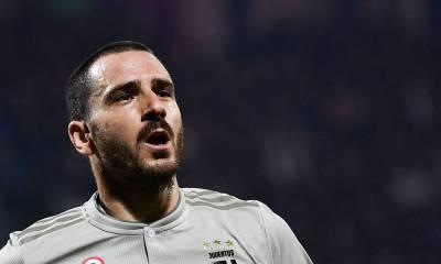 La Juventus de Turin n'est pas favorable à un départ de Bonucci pour le moment