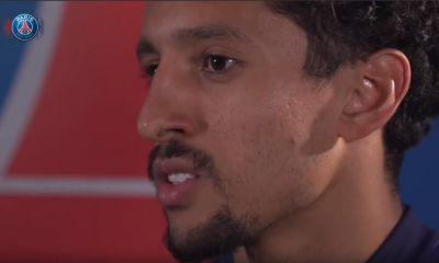 """Marquinhos: """"C'était difficile au départ de comprendre ce qu'il voulait que je fasse"""""""