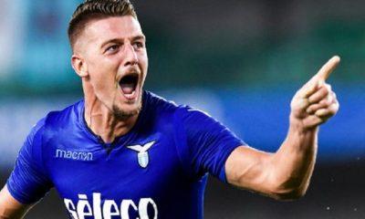 Mercato - Le président de la Lazio Rome évoque un éventuel transfert de Milinkovic-Savic