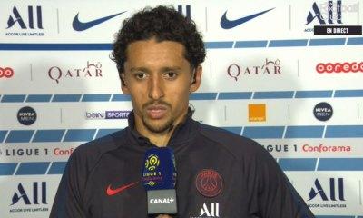 """PSG/Nîmes - Marquinhos : """"Il fallait débuter par une victoire à la maison"""""""