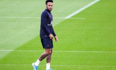 Neymar de retour sur le terrain contre Toulouse ou Metz, c'est possible mais pas sûr indique Le Parisien