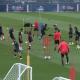 Les images du PSG ce samedi : entraînement et conférences de presse