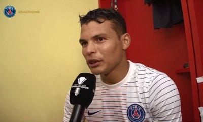 """TDC - Thiago Silva: """"Heureux de remporter ce trophée. On ne pouvait pas rêver mieux pour débuter la saison"""""""