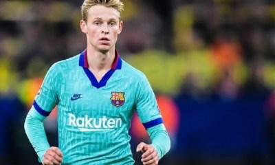 """De Jong """"Si ça n'avait pas été le Barça, ça aurait le PSG ou Manchester City"""""""