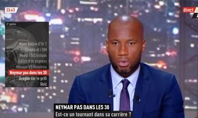 """Drogba: """"Neymar, aujourd'hui, il est en difficulté, mais je pense que ça peut être un mal pour un bien"""""""