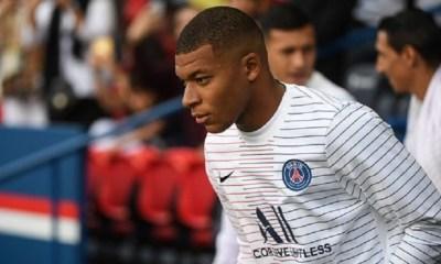 Mbappé est incertain pour PSG/Angers et les match de l'Equipe de France, indique L'Equipe