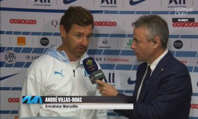 """Villas-Boas: """"Paris doit se concentrer sur la Ligue des champions avec les milliards qu'il dépense..."""""""