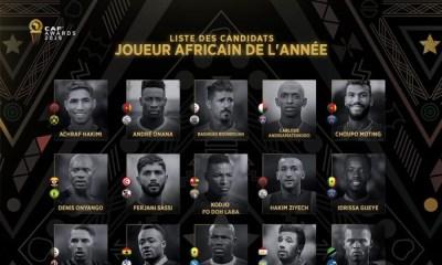 Meilleur Joueur Africain de l'année: Gueye et Choupo-Moting dans les 30 nominés !